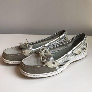 Sperry Women's Metallic Boat Shoe ⛵️